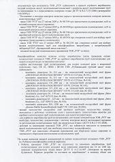Акт поставлення на виробництво труб РТЗ